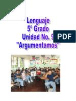 Estrategias de Lenguaje Unidad 9 de Quinto Grado