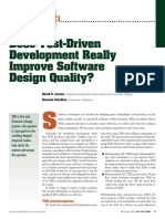 Does Test-Driven Development Really Improve Software Design Quality