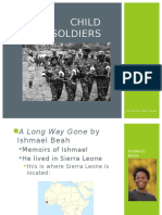 child soldiers powerpoint