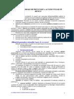 Masuri Generale de Prevenire a Accidentelor de Munca