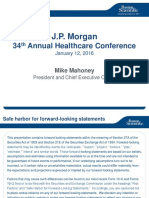 BSX JP Morgan Jan 2016 Presentation