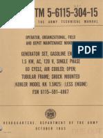 TM 5-6115-304-15  1963
