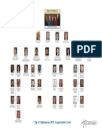 New City of Tallahassee Organization Chart