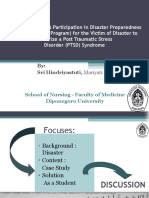 Enhancing Students Participation in Disaster Preparedness PTSD 2011-Nd