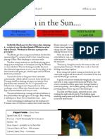 soccer newsletter april 13 2013