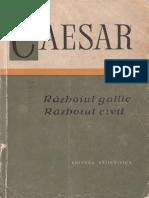 CAIUS IULIUS CAESAR - Razboiul Gallic, Razboiul Civil