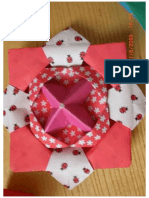 Origami Spinning Top - Photo Diagrams