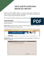Instalar Flash Player Para Firefox en Ubuntu