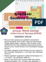 Pertemuan6 7 Geokimia 2015