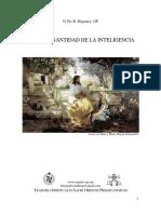 Hacia La Santidad de La Inteligencia, Fr Pie Regamey OP