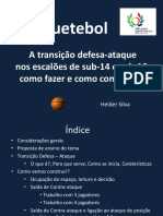 Basquetebol a Transio Defesa-Ataque Helder Silva