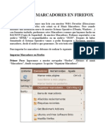 Importar Marcadores en Firefox