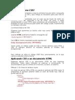 CSS 1Colores y Fondos