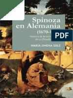 Spinoza en Alemania (1670-1789) - Solé, María Jimena