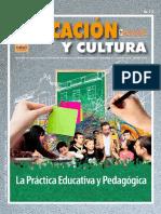 Barragán Diego, El Profesor y El Saber Practico 2016