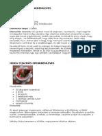 Eperkrémleves receptek