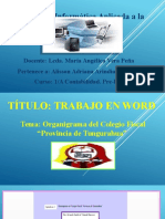 Capture deWORD Y EXCEL