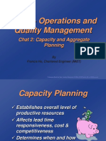 Operations and Quality Management