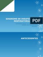 Sindrome de Insuficiencia Respiratoria Aguda