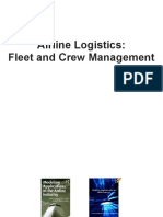 Airline Logistic Fleet and Crew Management