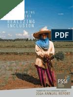 FSSI Annual Report 2014