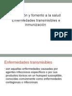 Enfermedades Transmisibles e Inmunizaciones
