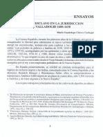 El esclavo en la jurisdicción de Valladolid 1600-1650