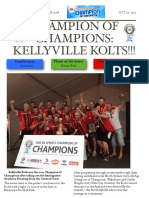 soccer newsletter october 20 2013