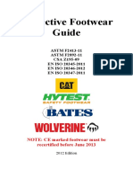 Protective Footwear Guide last