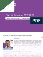 Plan de Gobierno TPP 2016-2021