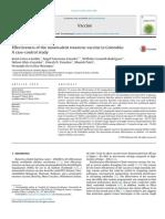 Effectiveness of the Monovalent Rotavirus Vaccine in ColombiaA Case-control Study