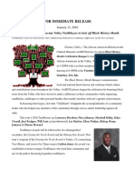 The African-American Museum Valley Trailblazers kick-off of Black History Month
