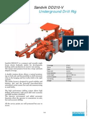DD210-V 9-6040-B | Drill | Drilling