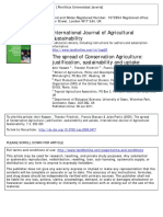 Conservation Agriculture Spread Justification, Sustainability and Uptake