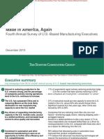BCG 2015 Mfg Exec Survey_key Findings for MEDIA_final
