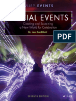 SpeSpecial Events Creating and Sustaining a New World for Celebration, 7th edition By Joe Goldblattcial Events Creating and Sustaining a New World for Celebration, 7th Edition by Joe Goldblatt
