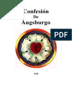 2 Confesion de Augsburgo 1530