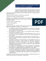 Informe de Evaluacion Comunitaria 2015 3º Bimestre