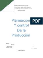 Org. de La Produccion Trabajo