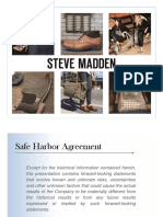 SHOO Steve Madden Presentation 2015 - Morgan Stanley Latest