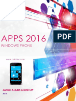 Windows Phone Apps 2016