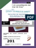 Informe Nº 02... Historia de La Geometría Descrptiva