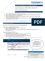 2016 volunteer self-registration guide via mfc template for clubs