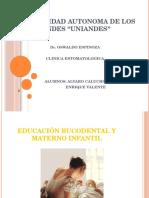 Educación Bucodental Materno Infantil