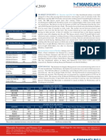 A study on the Market insight by Mansukh Investment and Trading Solutions 7/4/2010