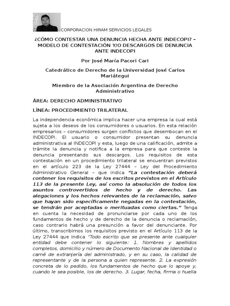 Fantástico Plantilla De Procedimiento Escrito Modelo - Ejemplo De ...