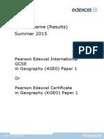 2015 May June Mark Scheme