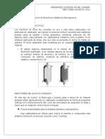 Clasificación de Reactores Catalíticos Heterogéneos