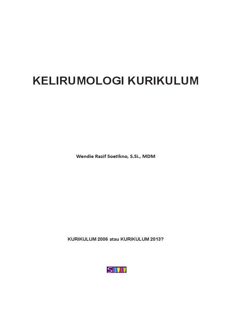 Kelirumologi Kurikulum Isi Buku e9e432715a