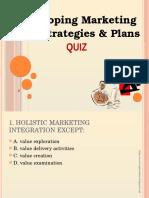 Marketing Quiz